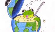 """!Bienvenidos a mi Blog """"Una rana en elpuchero""""!"""
