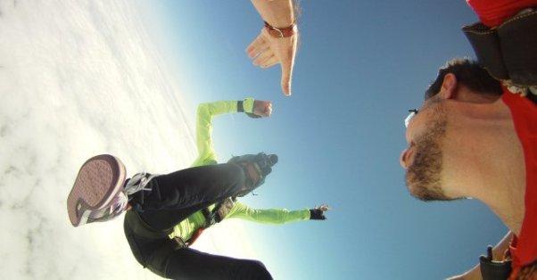 Salto en Paracaidas