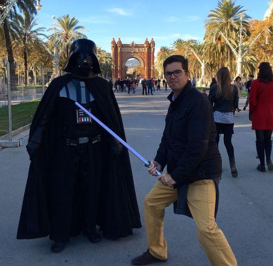 Dark Vader en Barcelona